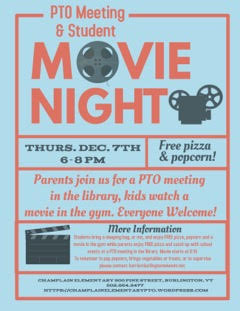 Movie Night Champlain