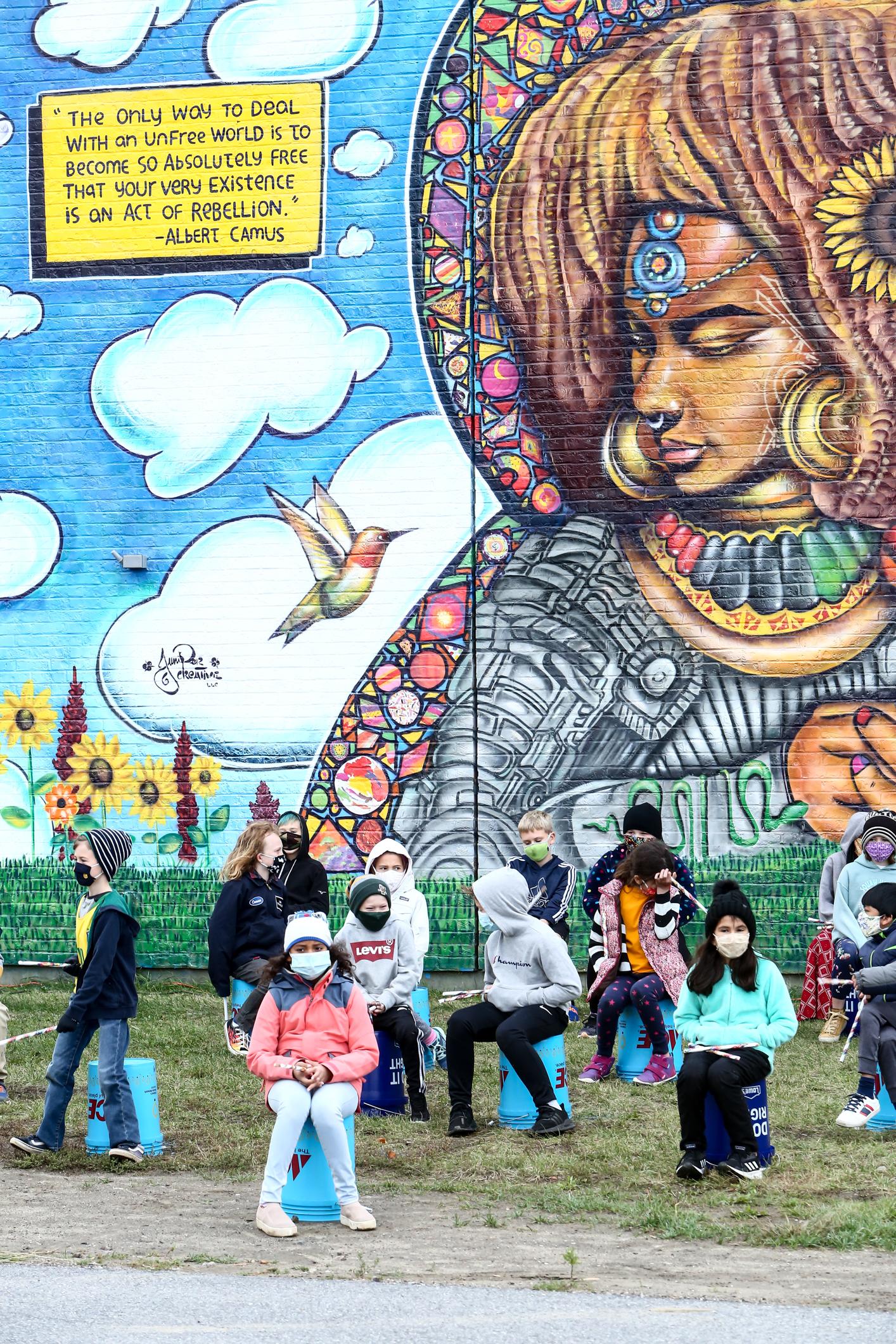 Champlain Elementary Mural